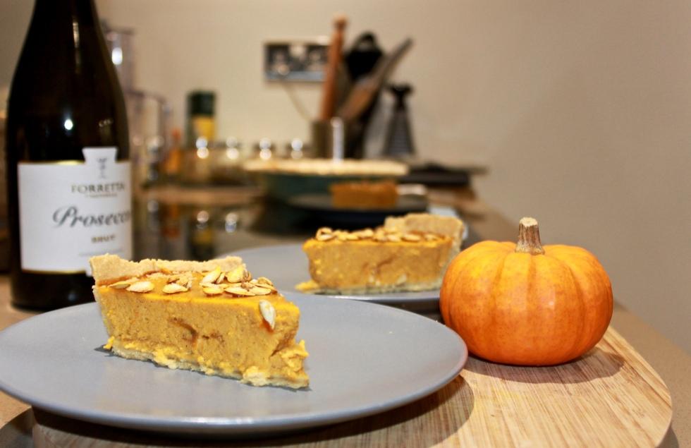 pumpkin pie recipe autumn fall halloween