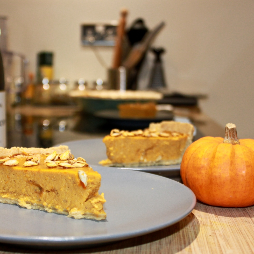pumpkin pie recipe autumn fall halloween