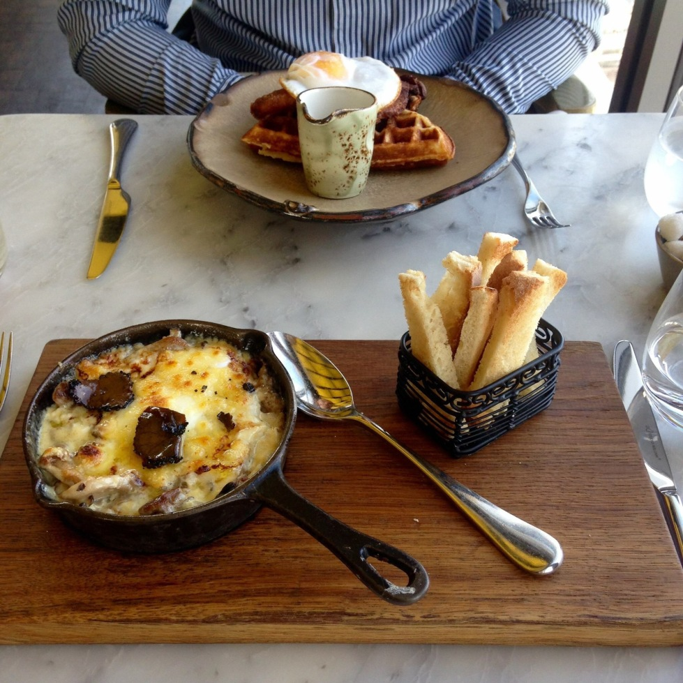 Brunch Duck and Waffle London review