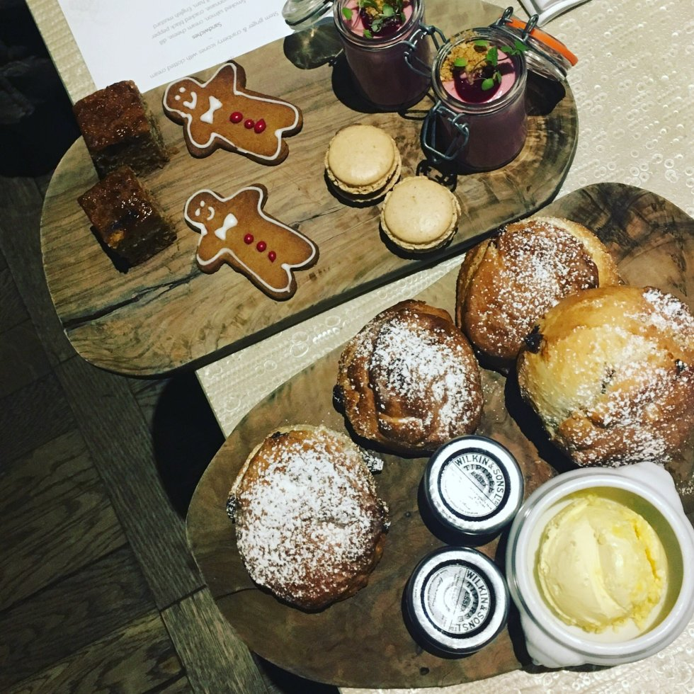 gingerbread afternoon tea York & Albany review London