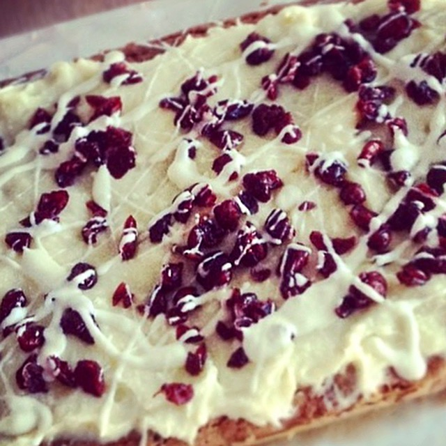 Starbucks white chocolate and cranberry bliss bars recipe