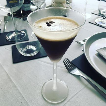 Espresso Martini recipe food blog veggie The Jam Jar Kahlua Vodka Cocktail