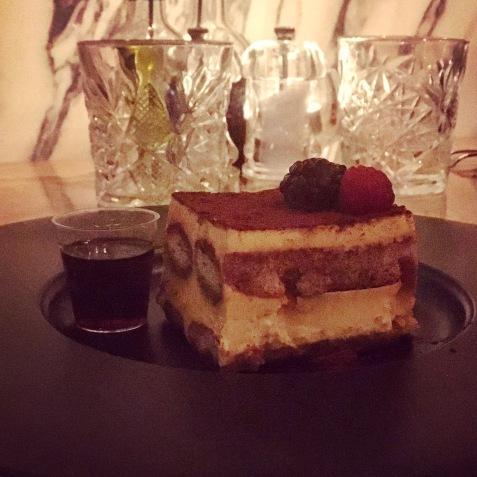 Tiramisu - Cicchetti Covent Garden, London Italian restaurant food blog review