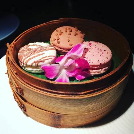 Hakkasan Hanway Place London Review Macarons set menu
