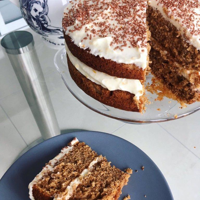 Best ever carrot cake birthday celebration cake recipe The Jam Jar