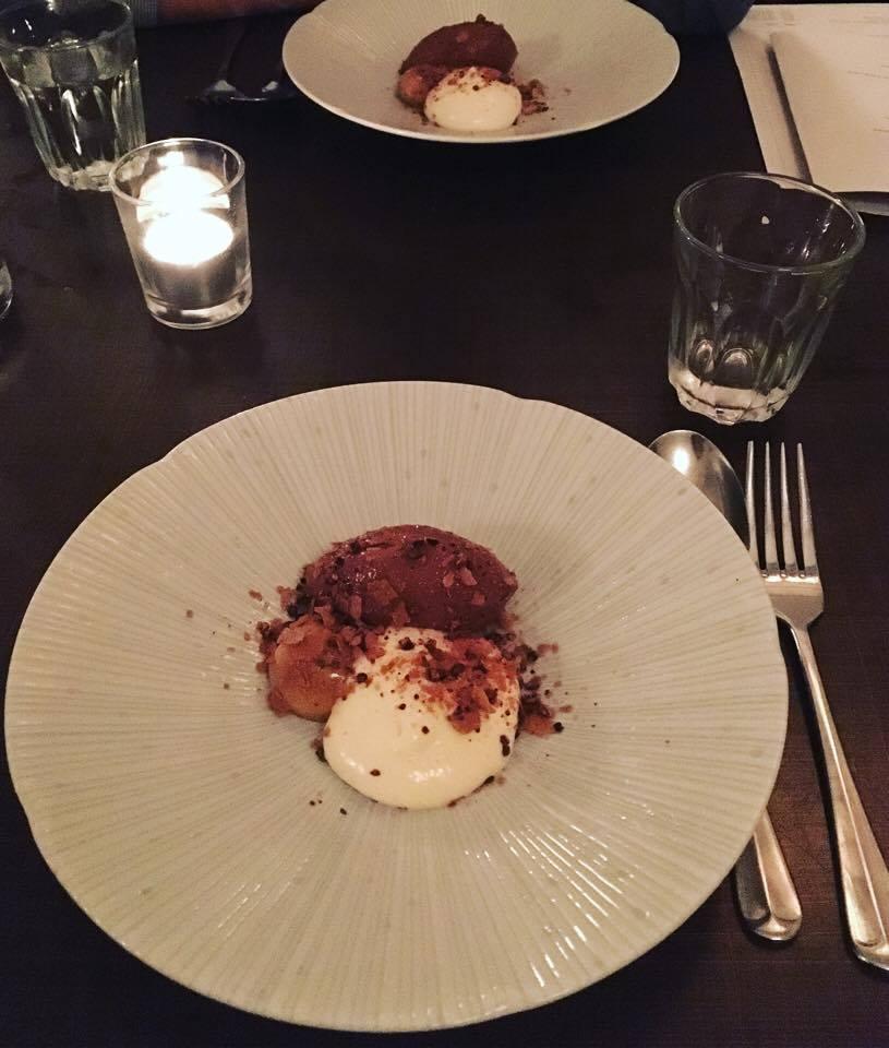 Picture Restaurant Fitzrovia London Dessert Vegetarian Tasting Menu