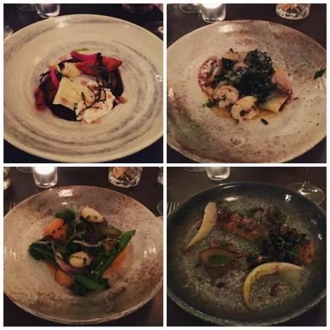 Picture Restaurant Fitzrovia London Vegetarian Tasting Menu