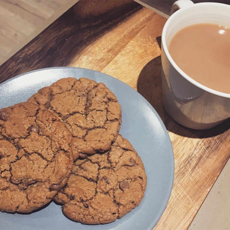 chocolate chip cookie recipe The Jam Jar food blog