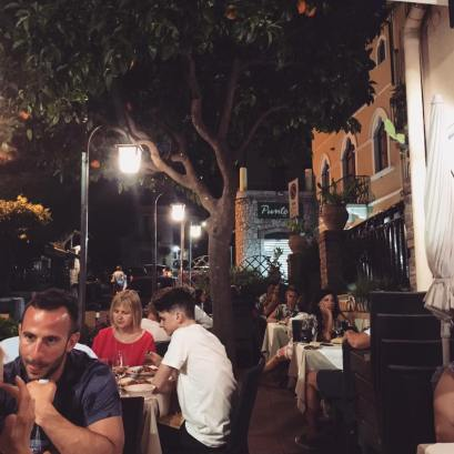 Trattoria Tiramisu - Taormina, Sicily vegetarian Italian restaurant review The Jam Jar food blog