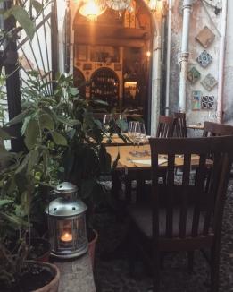 Tischi Toschi restaurant Taormina, Sicily restaurant review food blog The Jam Jar